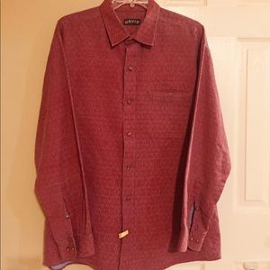 Orvis long sleeve button down shirt size XL